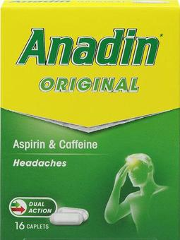 Anadin Original Caplets Pack of 16