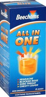 Beechams All-in-One Liquid