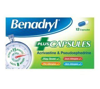 Benadryl Plus Capsules