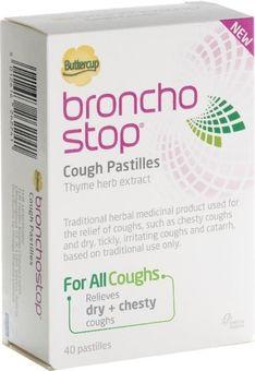Buttercup Broncho Stop Cough Pastilles