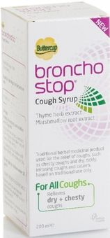 Buttercup Broncho Stop Cough Syrup 200ml