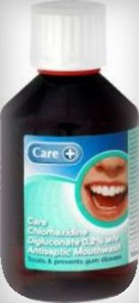 Care Chlorhexidine Antiseptic Mouthwash 300ml