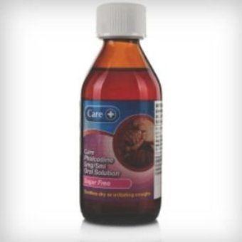 Care Pholcodine Linctus - Sugar Free 200ml