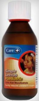 Care Simple Paediatric Linctus Sugar Free 200ml