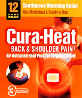 Cura-heat Air Active Back/shoulder/neck Pain