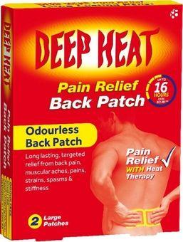 Deep Heat Back Patch