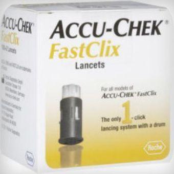 Accu-Chek Fastclix Lancets Pack of 24