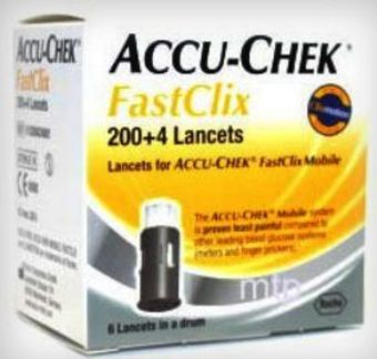 Fastclix Lancets Pack of 204