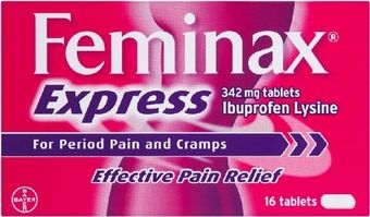 Feminax Express Tablets