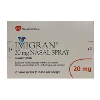 Imigran nasal spray