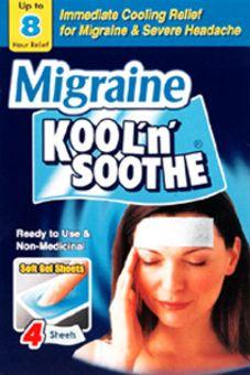 Kool 'n' Soothe Migraine Cooling Strips