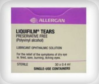 Liquifilm Tears Eye Drops Preservative-free 0.4ml Pack of 30