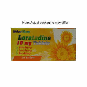 Loratadine 10mg Tablets Pack of 30