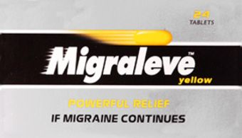 Migraleve Tablets Yellow Pack of 24