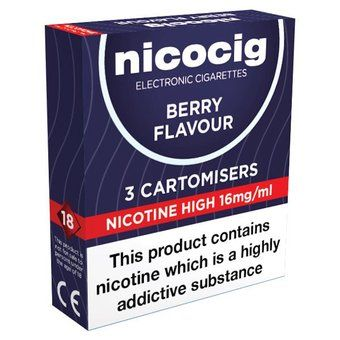 Nicocig High Strength Berry