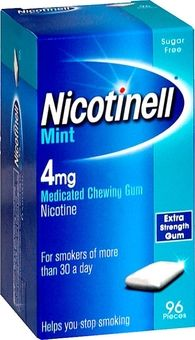 Nicotinell 4mg Gum Mint Pack of 96