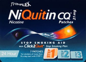 Niquitin 21mg Patches Original Pack of 7