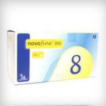 Novofine Needles  30G 8mm  Pack of 100