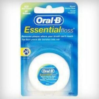 Oral-B Essential Waxed Mint Flavoured Dental Floss