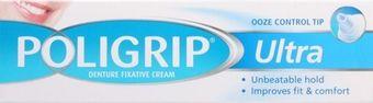 Poligrip Denture Fixative Cream Ultra 40g