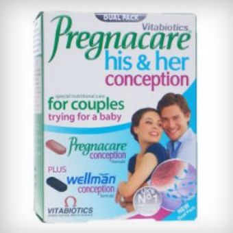 Pregnacare Conception His & Hers Tablets Pack of 60