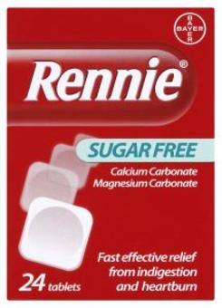 Rennie Sugar-free Tablets Pack of 24