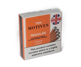 10 Motives Refills Regular Tobacco Flavour