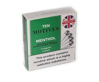 10 Motives Refills Menthol Flavour