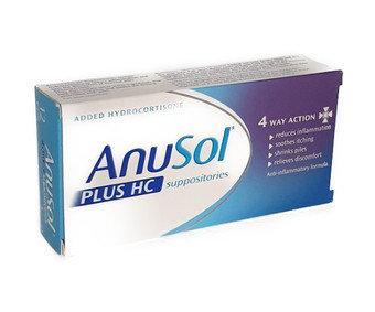 Anusol Plus HC Suppositories