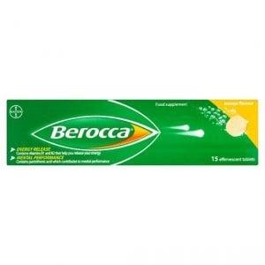 Berocca Mango Energy Vitamin Tablets