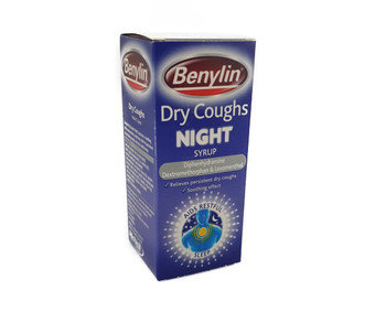 Benylin Dry Coughs Night Syrup