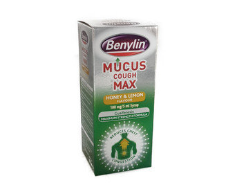 Benylin Mucus Cough Max Honey & Lemon Flavour