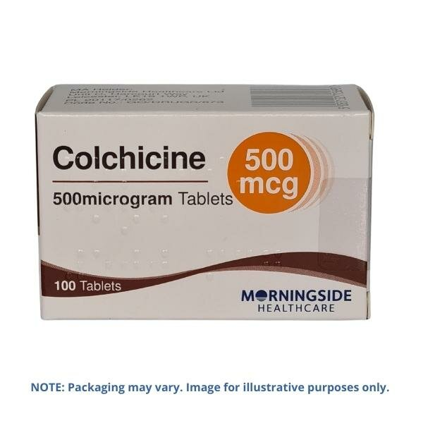 Colchicine 500mcg Tablets