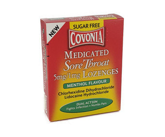 Covonia Medicated Sore Throat Lozenge