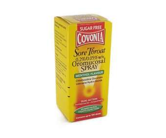 Covonia Sore Throat Oromucosal Spray