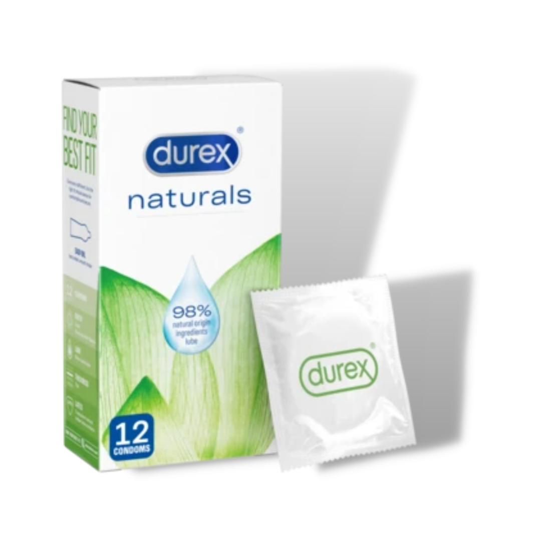 Durex Naturals 12 pack