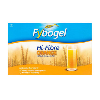 Fybogel Hi-Fibre Orange Flavoured Laxative Sachets