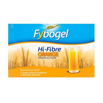 Fybogel Hi-Fibre Orange Flavoured Laxative Sachets