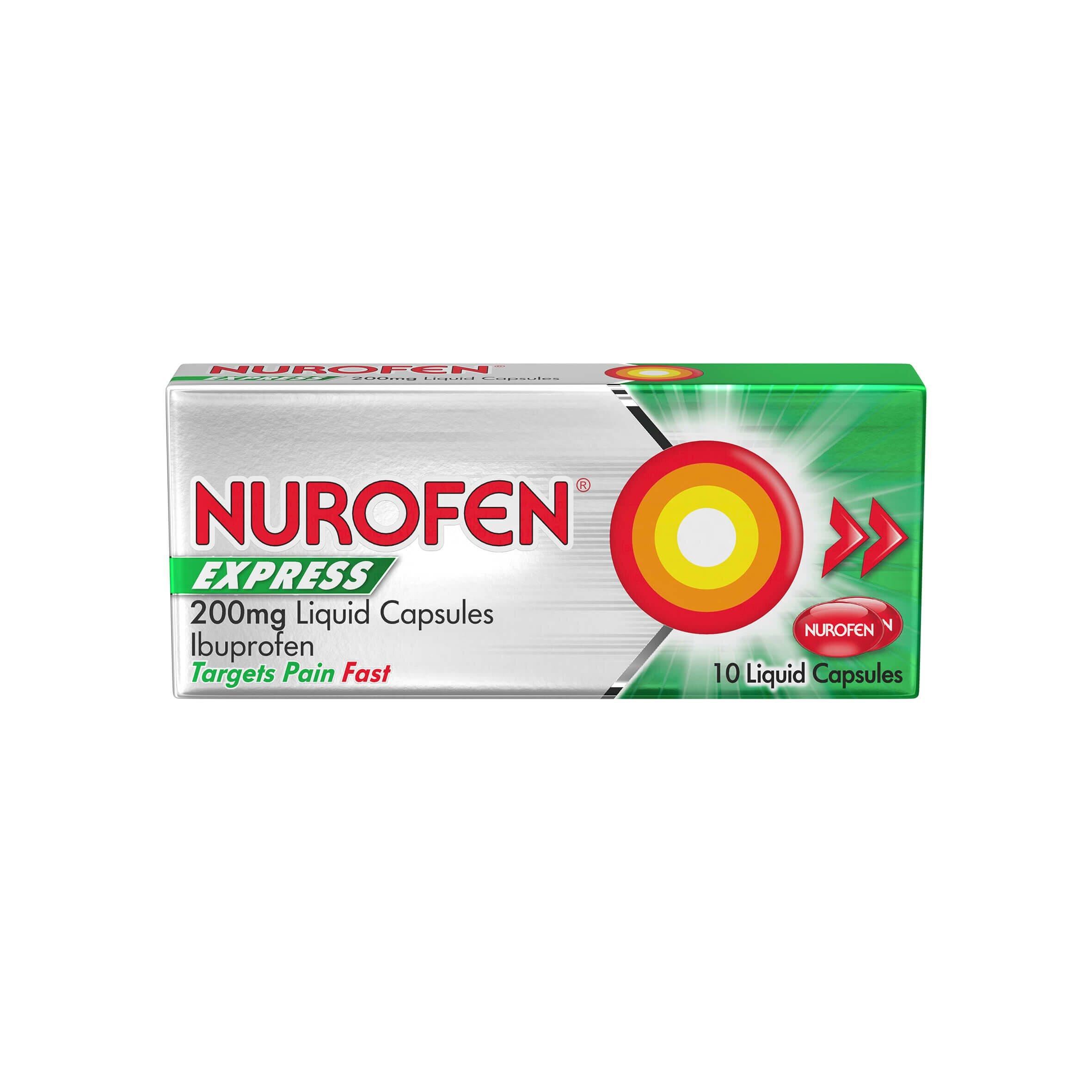 Nurofen Express Liquid Capsules