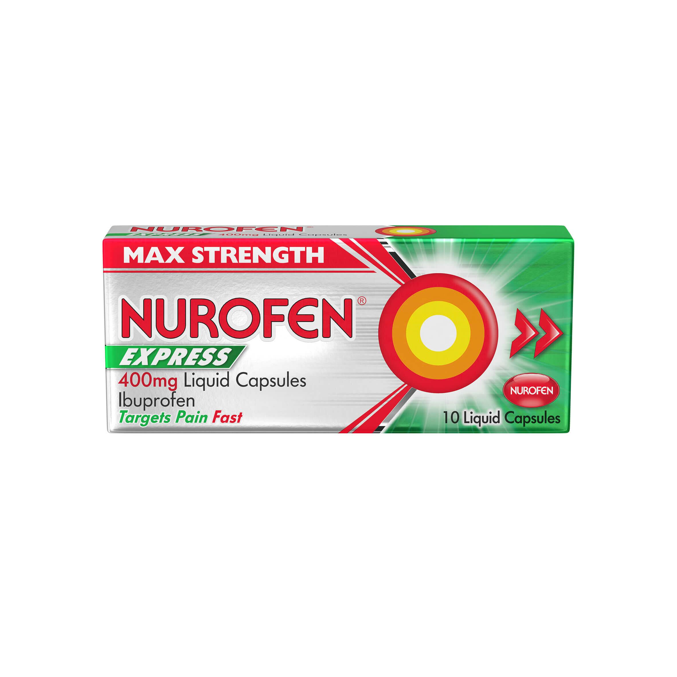 Nurofen Express Max Strength  Liquid Capsules