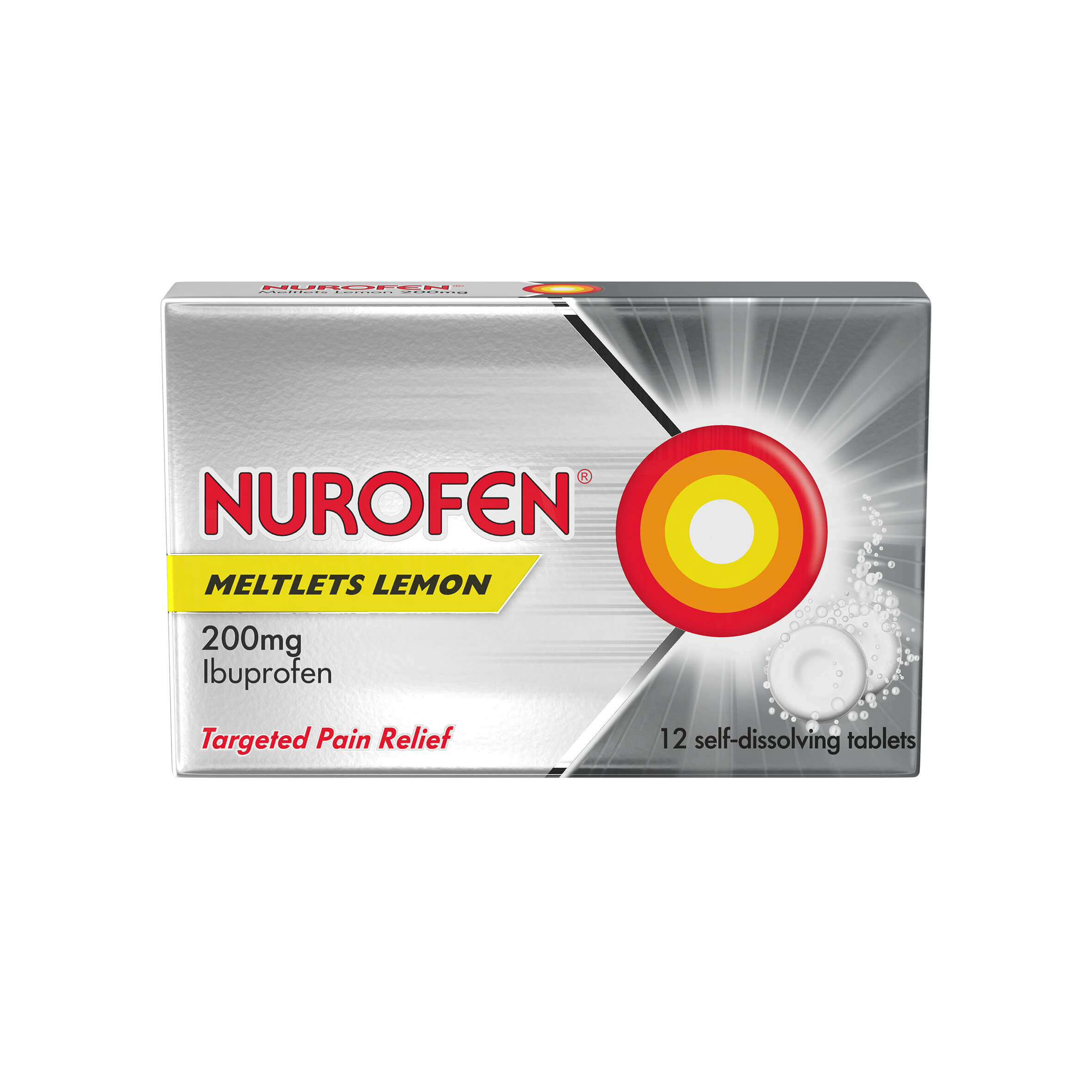 Nurofen Meltlets Compressed Tablets Pack of 12