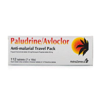 Paludrine/Avloclor Travel Tablets