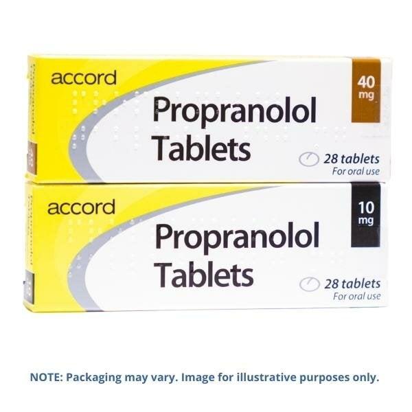 Propranolol 10mg Tablets