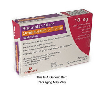 Rizatriptan Orodispersible 10mg Tablets