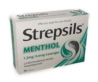 Strepsils Lozenges Menthol
