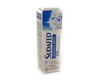 Sudafed Blocked Nose Spray