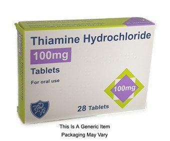 Thiamine Hydrochloride 100mg Tablets