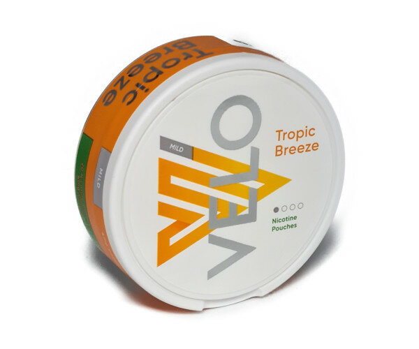 Velo Tropical Breeze Nicotine Pouch