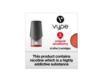 VYPE ePEN 3 Cartridges Strawberry Smash Flavour