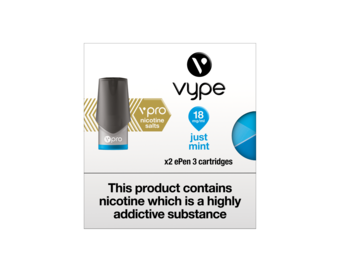 VYPE ePEN 3 Vpro Cartridges Just Mint Flavour